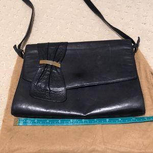 ce1e9106d76 BRUNO MAGLI leather shoulder  clutch bag